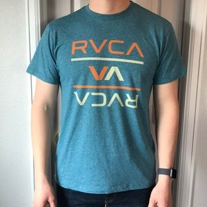 Other - Heather blue RVCA t-shirt